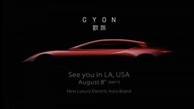 Gyon teaser coche eléctrico