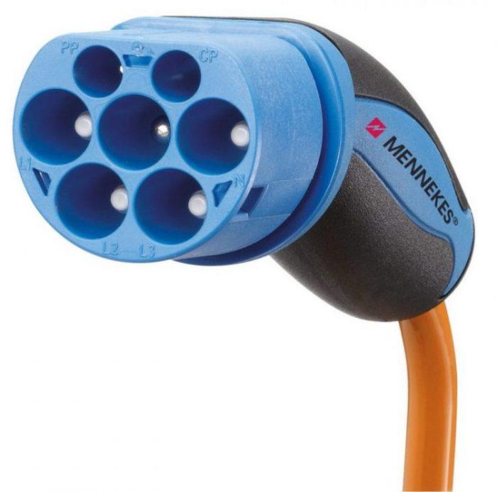 ⚡Guía de cables para coches eléctricos: conector Mennekes Tipo 2 (IEC 62196)✅
