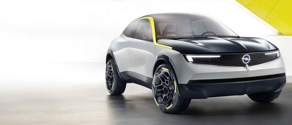 Opel concept GT X, un SUV eléctrico