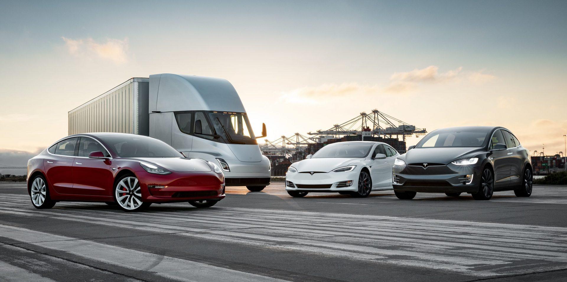 Foto de la familia Tesla: SX3Semi-Family