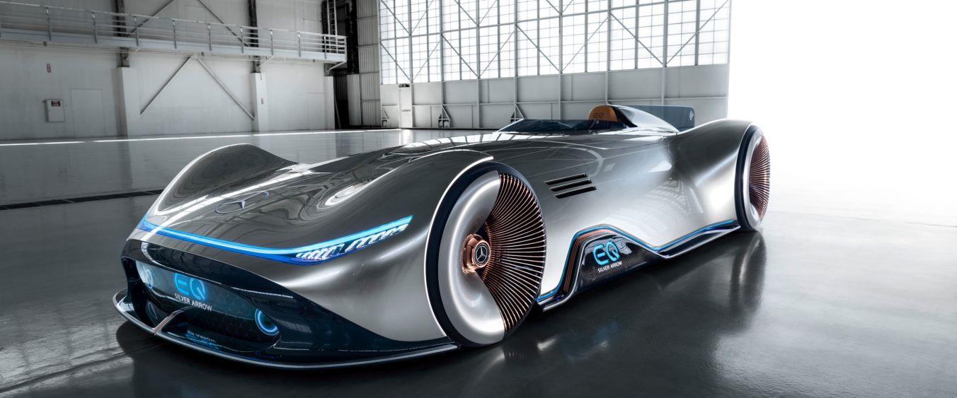Mercedes-Benz presenta el EQ Silver Arrow: su flecha de plata futurista