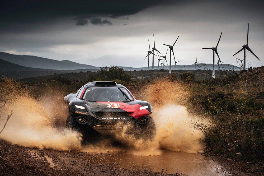 coche de competicion Extreme E