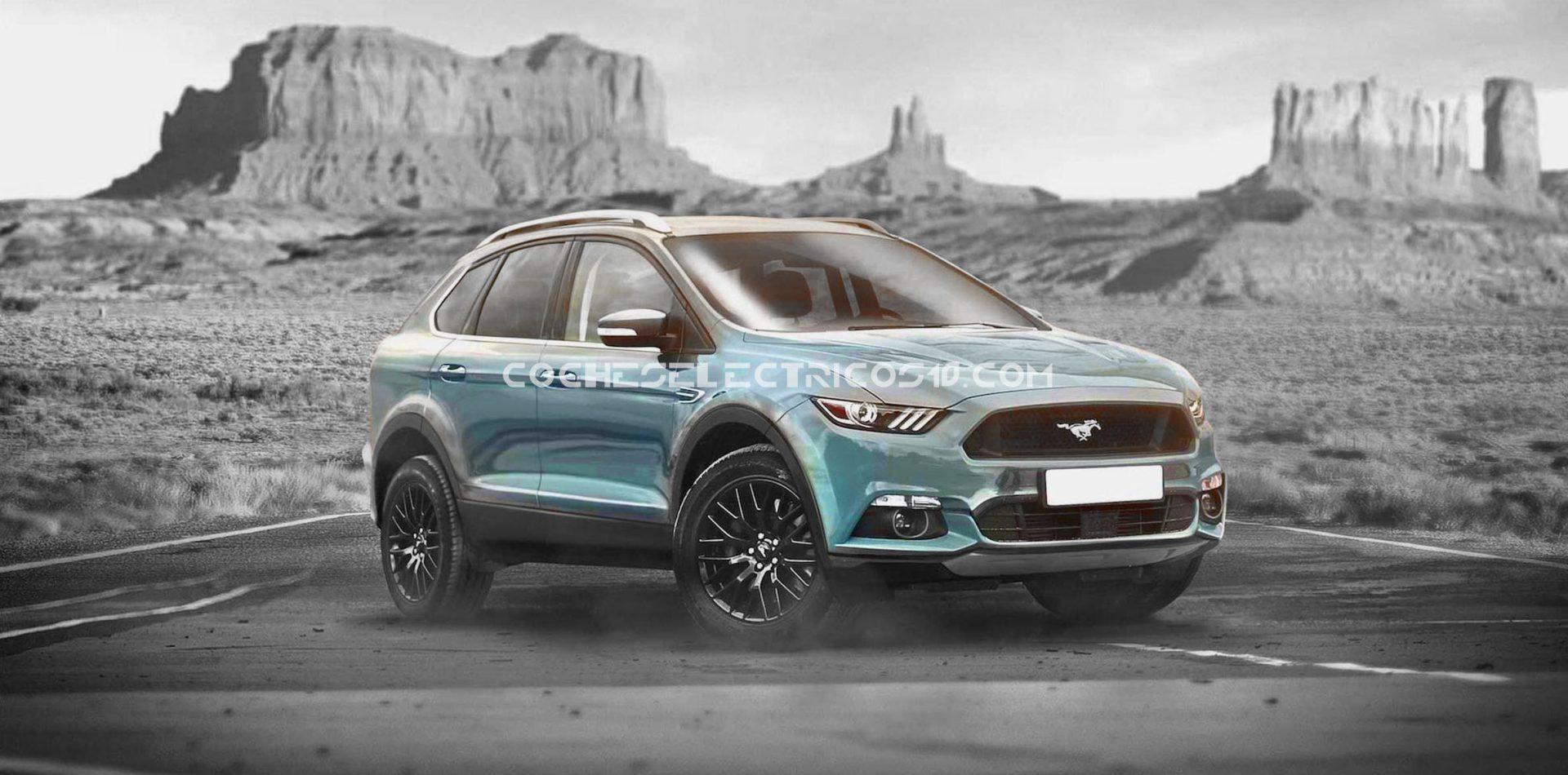 Ford prepara un Mustang-SUV 100% eléctrico