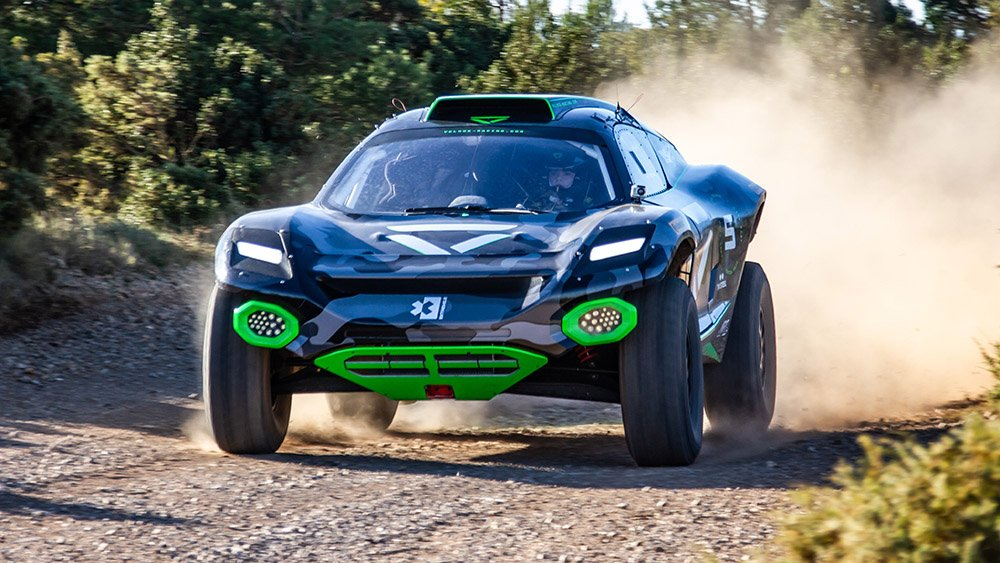 Coche de Veloce Racing de Extreme E