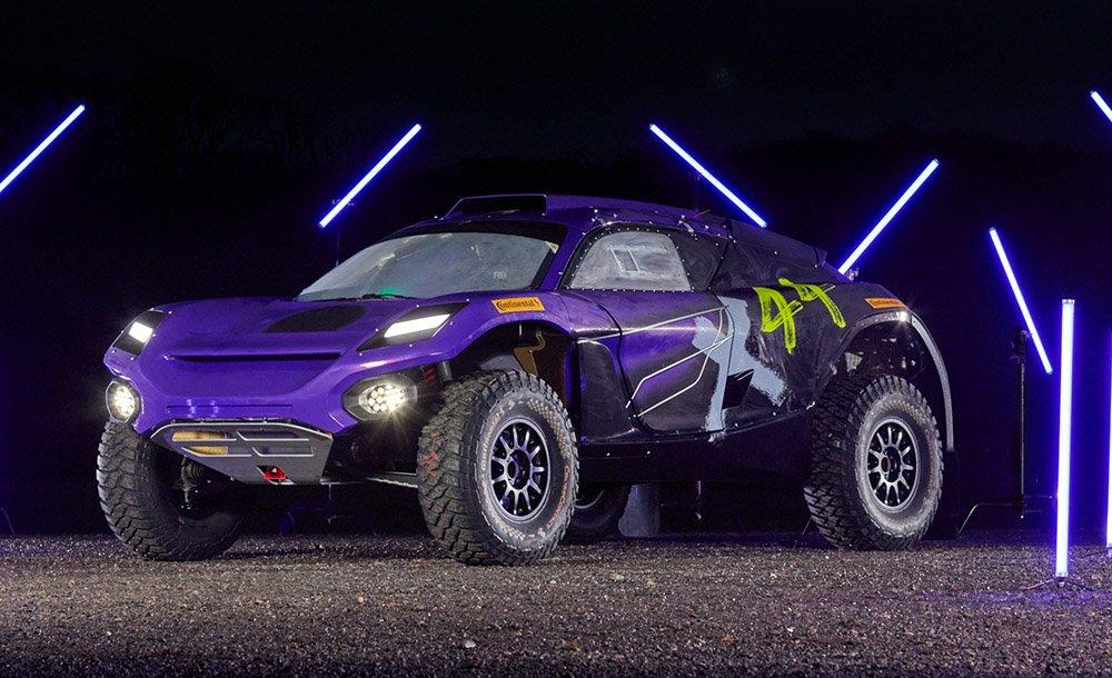 Coche del equipo x44 de Extreme E