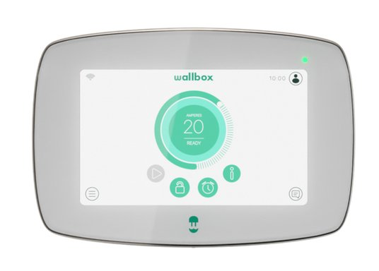 ⚡ Wallbox Commander 2 ⚡: siempre conectado, Wi-Fi, Ethernet o Bluetooth ✅