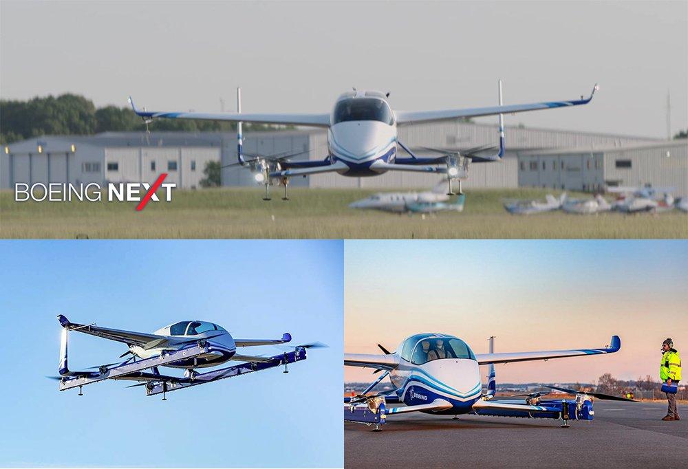 Boeing NeXt, la compañia aerea crea este departamento para el desarrollo del coche volador