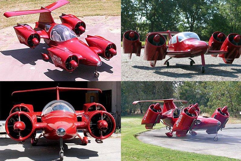 M400X, el coche volador