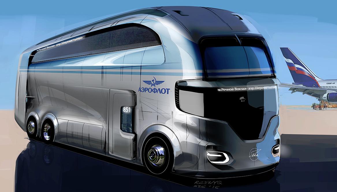 Volvo: el autobús del futuro