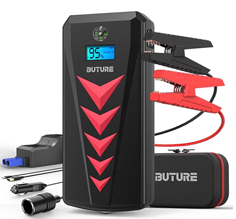 buture arrancador de batería