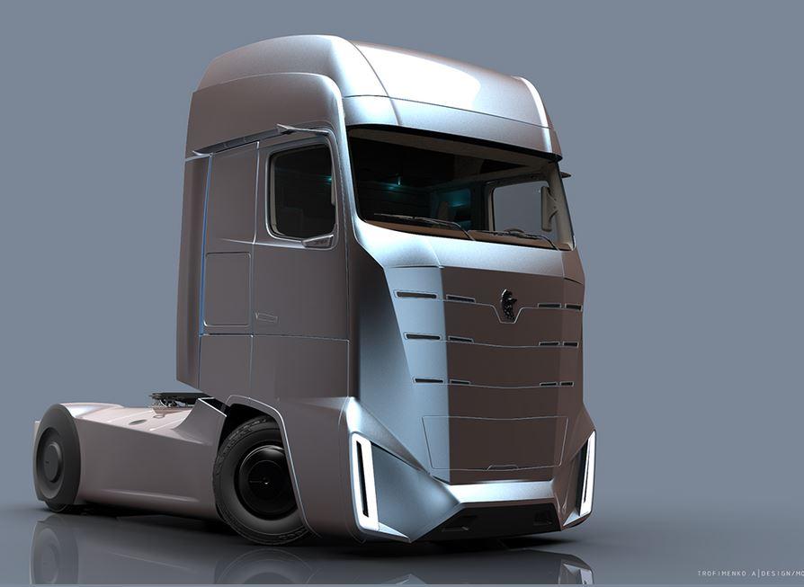 Kamaz E-Truck: el camión del futuro