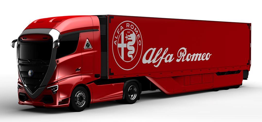 Alfa Romeo Truck Concept: el camión del futuro