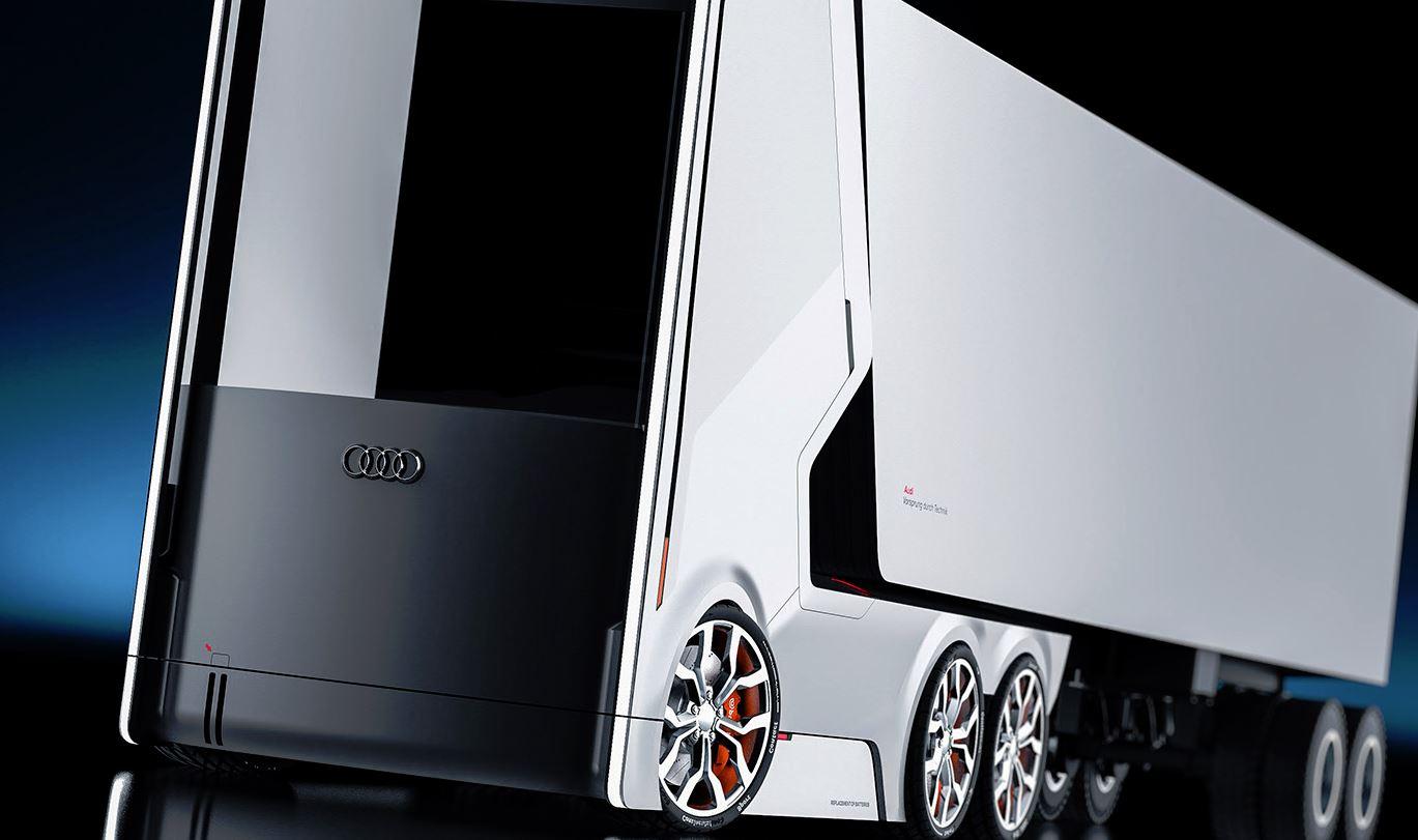 Audi Concept Truck: el camión del futuro