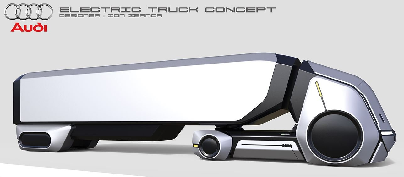 Audi - Electric Truck Concept: camión del futuro