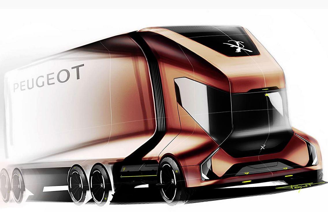 Peugeot Concept: camión del futuro