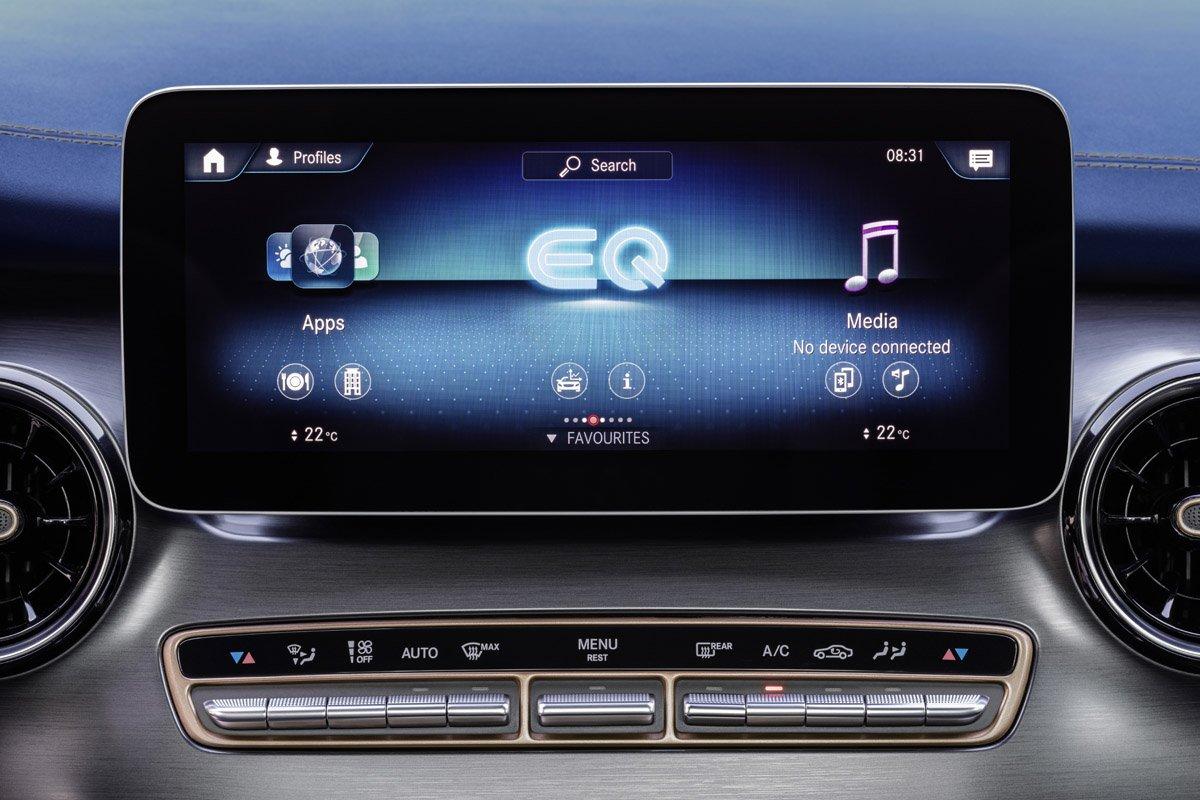 Sistema de Mercedes - MBUX