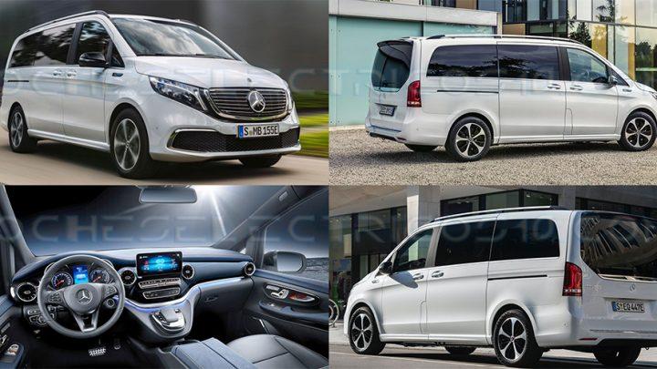 Mercedes-Benz EQV: la versión eléctrica de la clase V