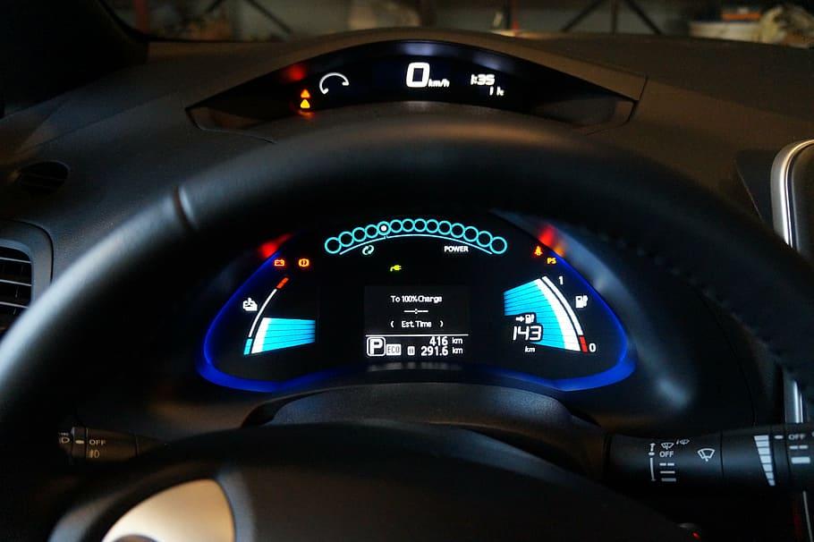Nissan Leaf Velocimetro. Todo lo que debes saber sobre el coche eléctrico