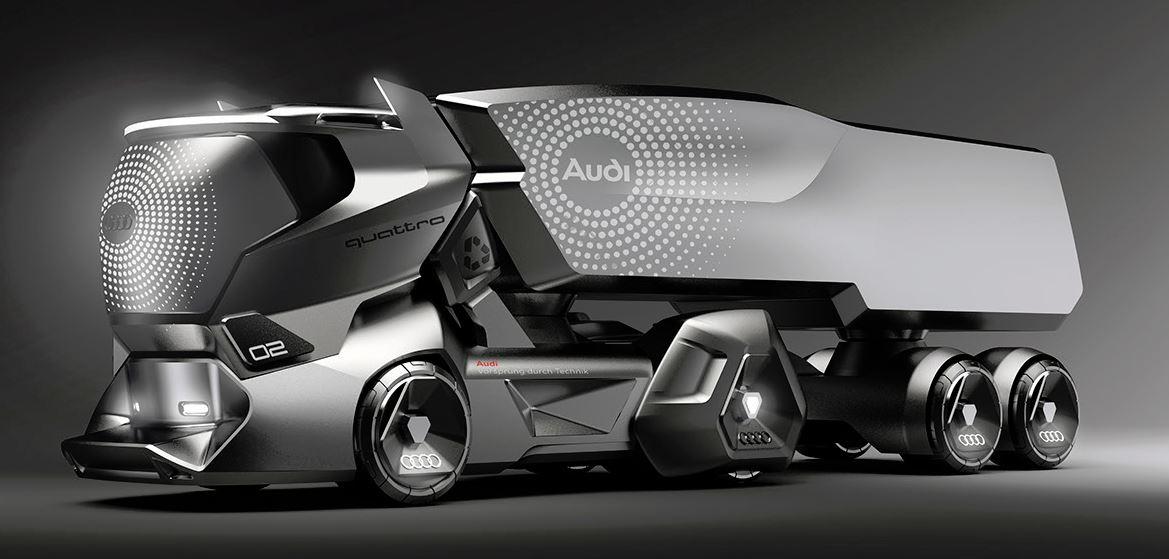 AUDI HMV: camión del futuro