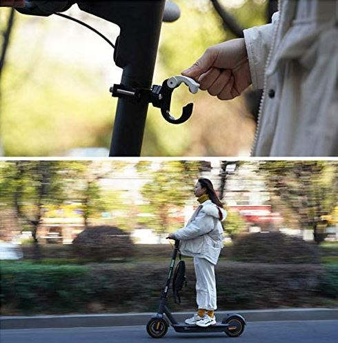 soporte para mochila para patinete eléctrico