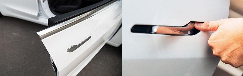 apertura puertas tesla model 3