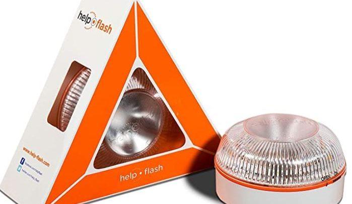 Help Flash: La señal luminosa V16 que sustituirá los triángulos de emergencia