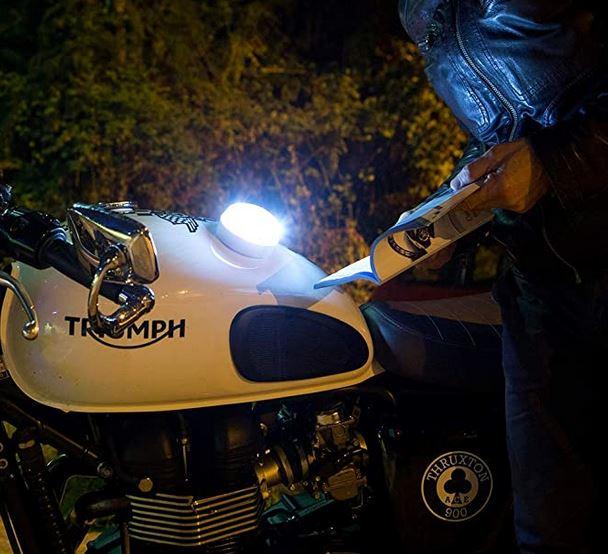help flash en una moto
