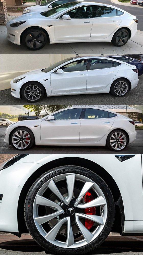 ruedas tesla model 3