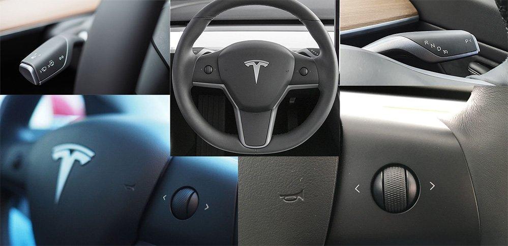 volante tesla model 3