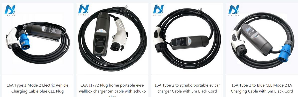 cargadores portatiles para coches eléctricos de K.H.O.N.S