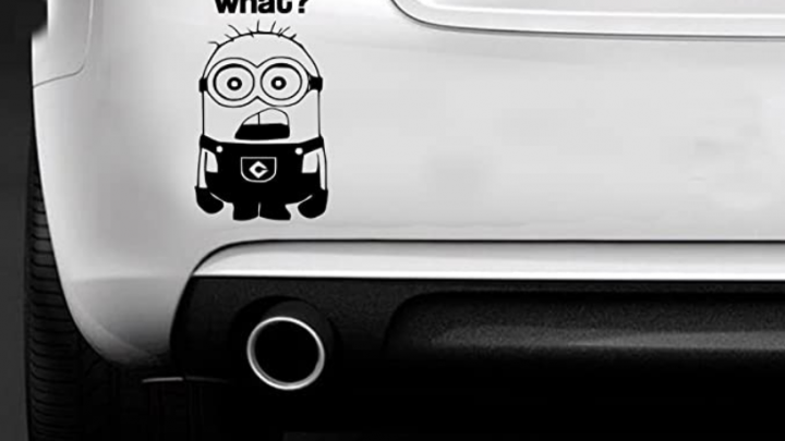 10 Ideas de pegatinas divertidas para coche tu eléctrico